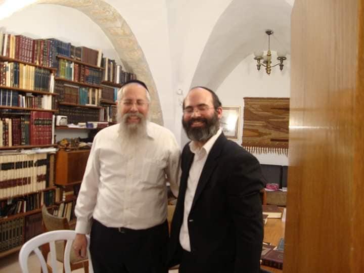 Rav Shalom Miller and Rav Yoel Rackovsky