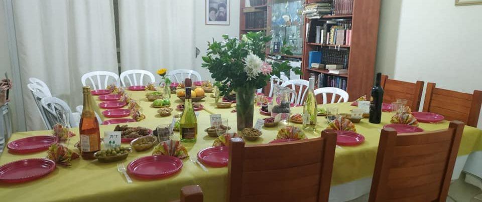 Tu Bishvat Seder in Geva Binyamin